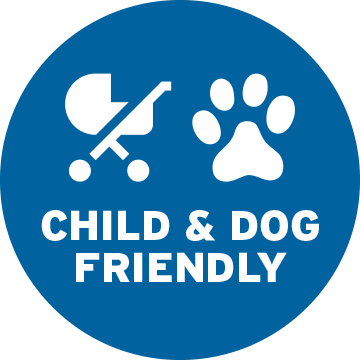 Child and Dog Friendly