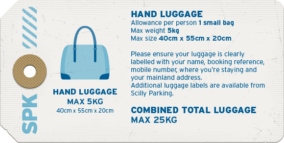 Hand luggage allocations