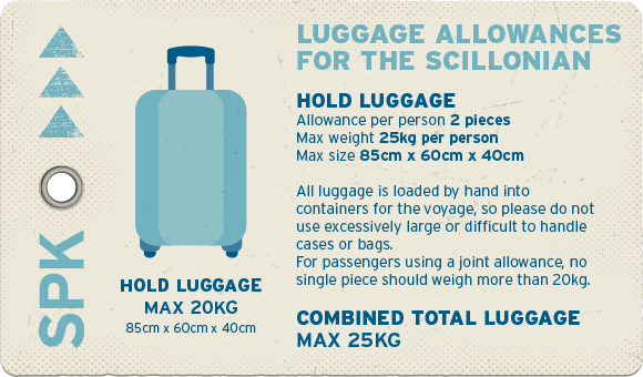 Hold luggage allocations